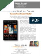 Dossier de Presse Galerie Breteuil Mars 2013