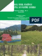 Turism Rural - Volum I Nr. 2