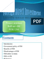 11332841 FDI Ppt Prince