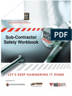 Subcontractor Safety Work Book