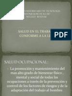 Presantacion Power Point Salud Laboral