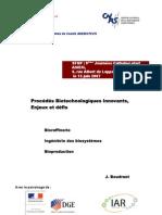 Procédés Biotechnologiques Innovants