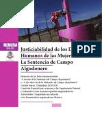 La Sentencia Del Campo Algodonero
