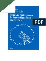Nueva Gui Para La Investigacion Cientifica Libro