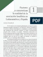 1 Factores que caracterizan la realidad de la asociación lasallista