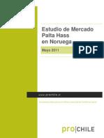 - Estudio Mercado Paltas NORUEGA