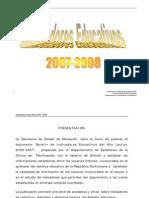 Educacion dominicana_Boletin de Indicadores 2007-08
