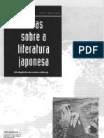 Notas Sobre a Literatura Japonesa