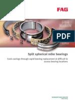 FAG Split spherical roller bearings