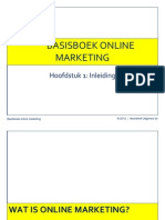 PPT Hoofdstuk 1 Basisboek Online Marketing
