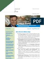 News Bulletin from Greg Hands M.P. #365