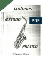 Metodo Pratico Saxofone Almeida Dias