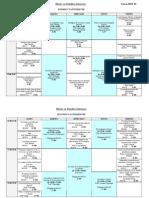 Horario máster Estudios literarios 2012-2013