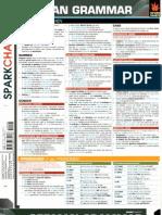 German Grammar Sparkcharts