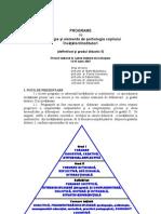 Programa Psihopedagogie Definitivat Si Gradul II Invatatori