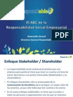 El ABC de la Responsabilidad Social - Gwenaelle Gérard