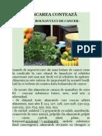 Dieta Bolnavului de Cancer