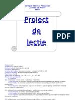 Proiectdelec Iematematicaclasaaii A