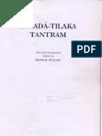 IntroductionToSarada TilakaTantram Text