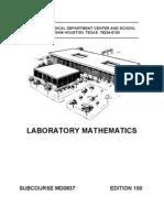 US Army Medical Laboratory Mathematics