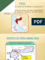 Lugares Turisticos de Pisco Ica