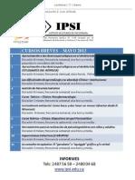eventos ambito psi - noticiero appia nº03 - 08.03.2013