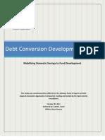 UNESCO - Debt Conversion Development Bonds - 2012