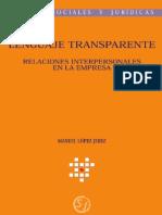 Libro Lenguaje Transparente
