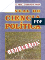 Quesada Rada Francisco - Manual de Ciencia Politica