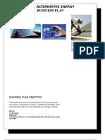 Uni-t Alternative Energy Partial Business Plan