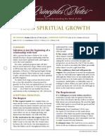 Your Spiritual Growth