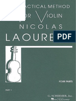 Nicolas Laoureux - Practical Method for Violin, Part 1