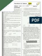 LISTA 3 - Atividade complementar de escalas termométricas