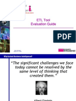 ETL Tool Evaluation Guide