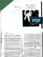 Policy Analysis - Thomas Dye