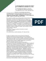 Acceso a La Inf Publica Sentencia CCA ADC c Fisco Rechazo Amparo Publicidad Oficial
