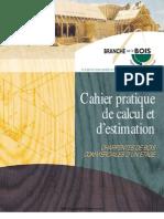 Cahier Pratique de Calcul Et Estimation Charpente