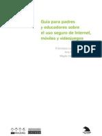 Guía sobre el uso seguro de internet, videojuegos y móviles