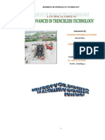 Advances in Trenchless Technology