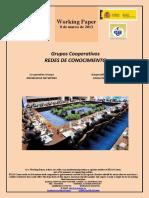 Grupos Cooperativos. REDES DE CONOCIMIENTO (Es) Co-operative Groups. KNOWLEDGE NETWORKS (En) Kooperatiben Taldeak. EZAGUTZA SAREAK (Es)
