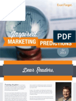 2013 Inspired Marketing Predictions
