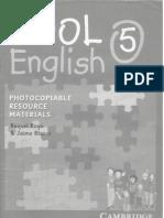 Cool English 5 Photocopyable Materials