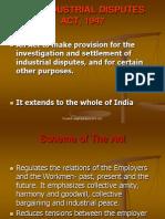 Industrial Disputes Act
