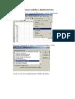 Passos Para o Uso Do Excel