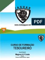 Clube Jaguar - Curso de Tesoureiro