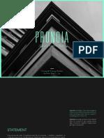 Pronoia PDF