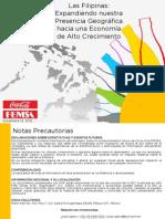 KOF - CCBPI Presentación Información Adicional Filipinas
