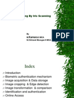 Advanced Polling by Iris Scanning