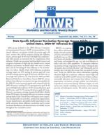 State Specific Flu Vaccine Coverage 2006