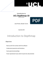 Introduction Depthmap v10 Website
